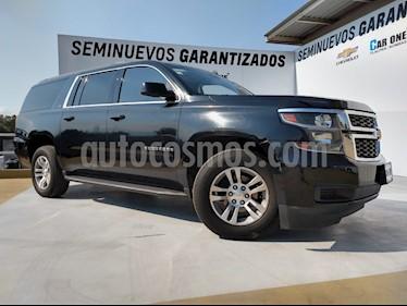 Chevrolet Suburban LT Piel Banca usado (2015) color Negro precio $469,000