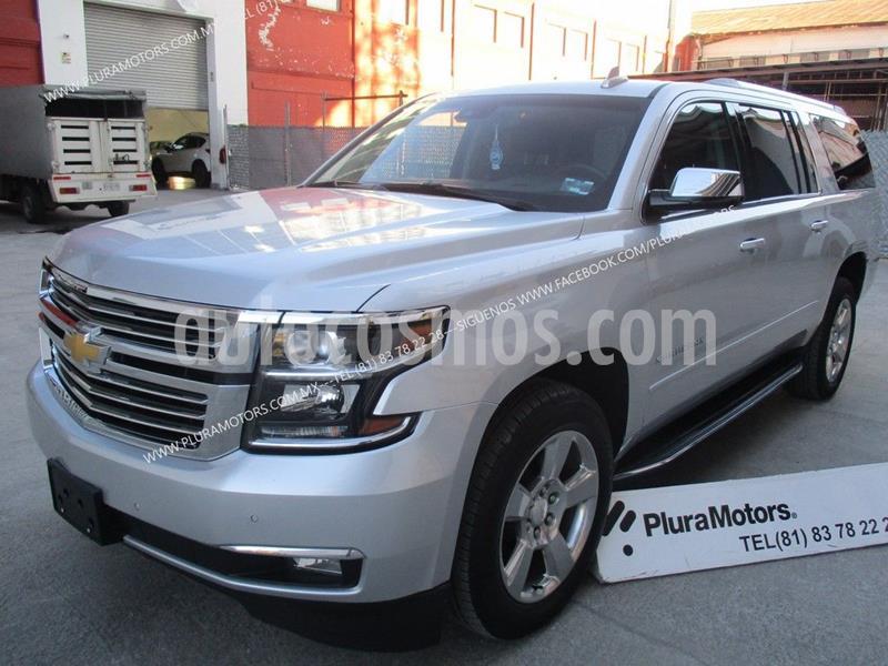 Chevrolet Suburban Premier Piel 4x4 usado (2019) color Plata Dorado precio $959,000
