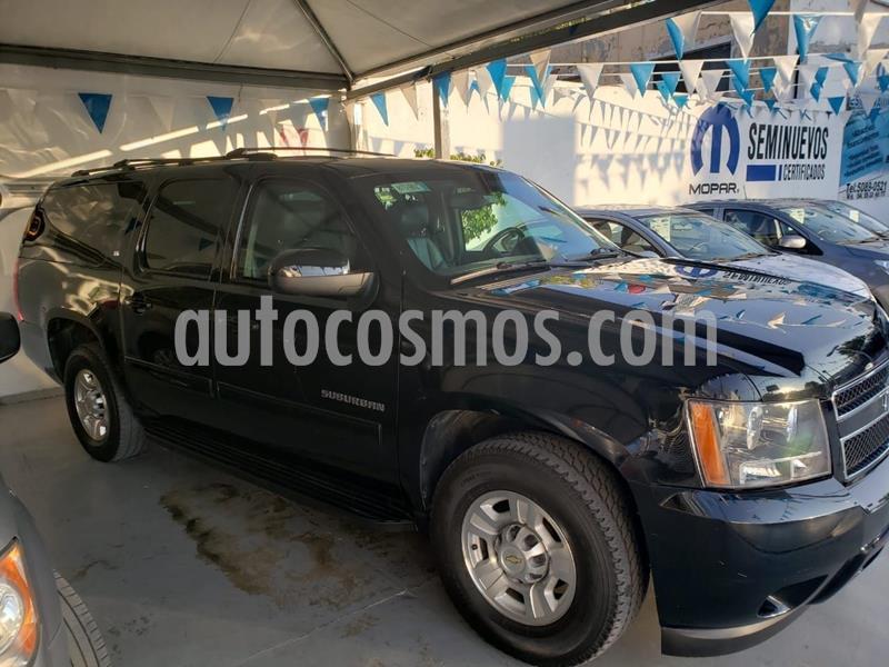 Chevrolet Suburban LT Piel Plus 4x4  usado (2013) color Negro precio $650,000