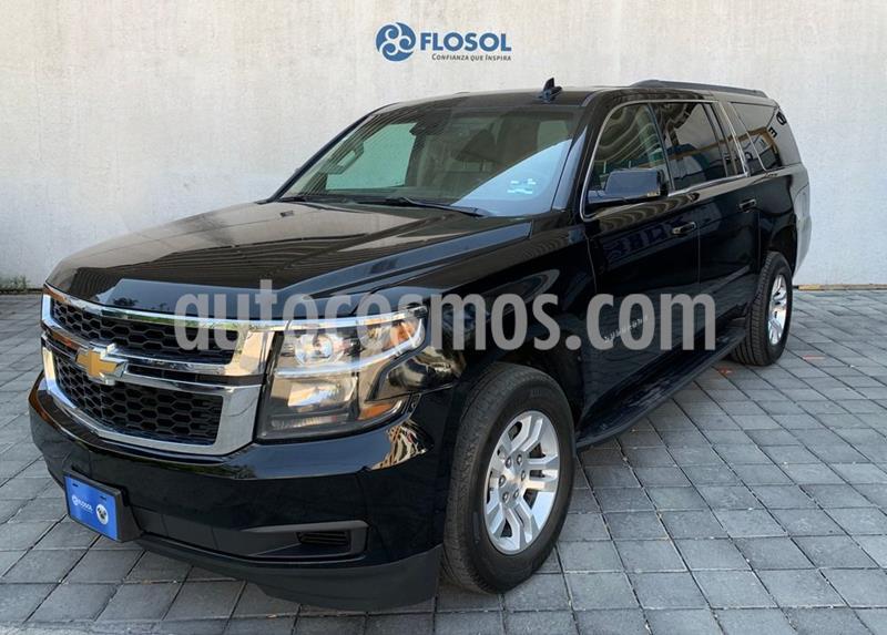 Chevrolet Suburban LT Piel Banca usado (2018) color Negro precio $679,000