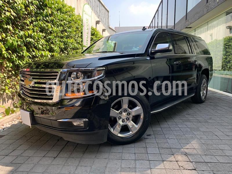 Chevrolet Suburban Premier Piel 4x4 usado (2017) color Negro precio $690,000