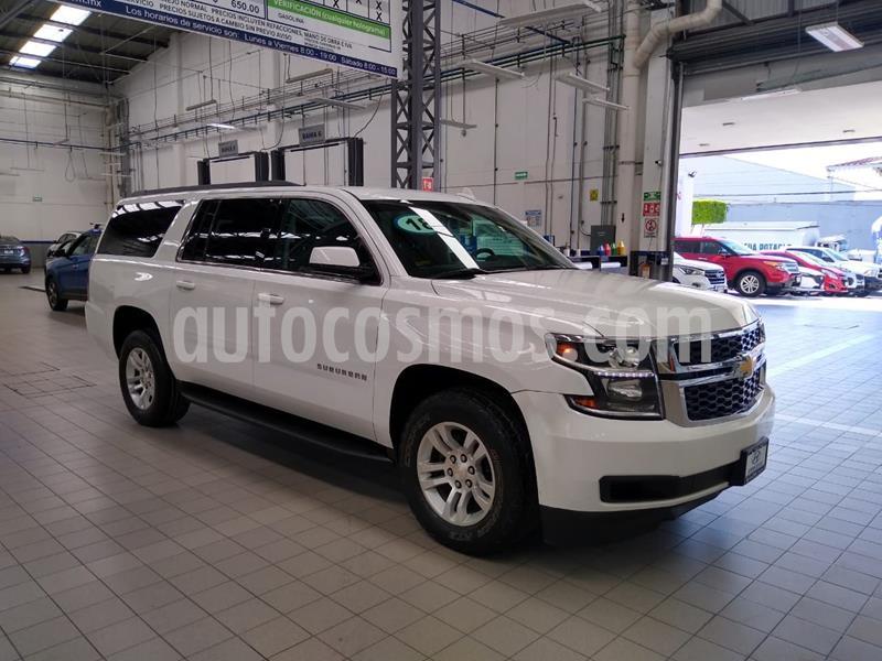 Chevrolet Suburban LS Tela usado (2018) color Blanco precio $595,000