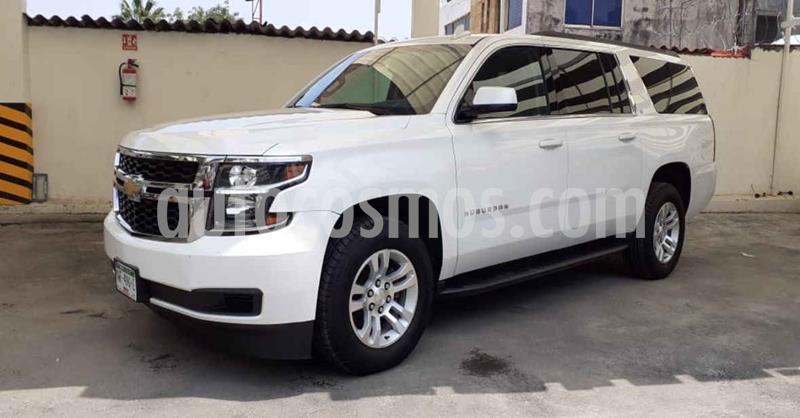 Chevrolet Suburban LT Piel Banca usado (2019) color Blanco precio $704,900