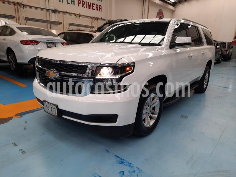 Foto Chevrolet Suburban LS Tela usado (2016) color Blanco precio $510,000