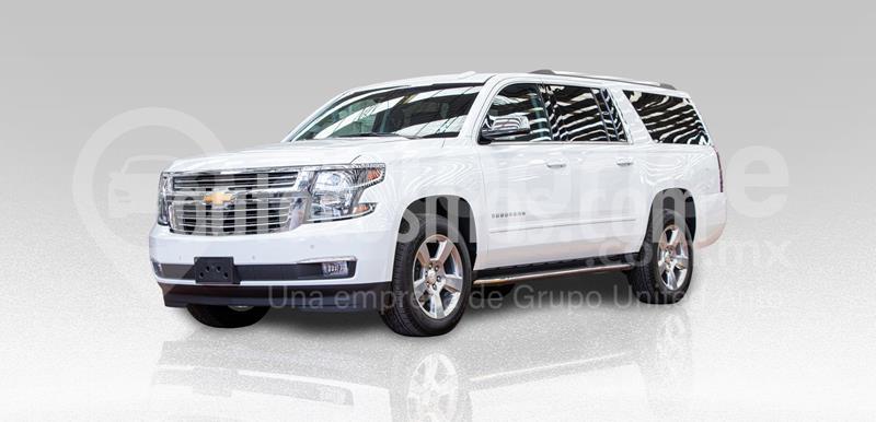 Chevrolet Suburban Premier Piel 4x4 usado (2019) color Blanco precio $1,140,000