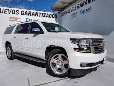 Chevrolet Suburban Premier Piel 4x4 usado (2018) color Blanco precio $900,000