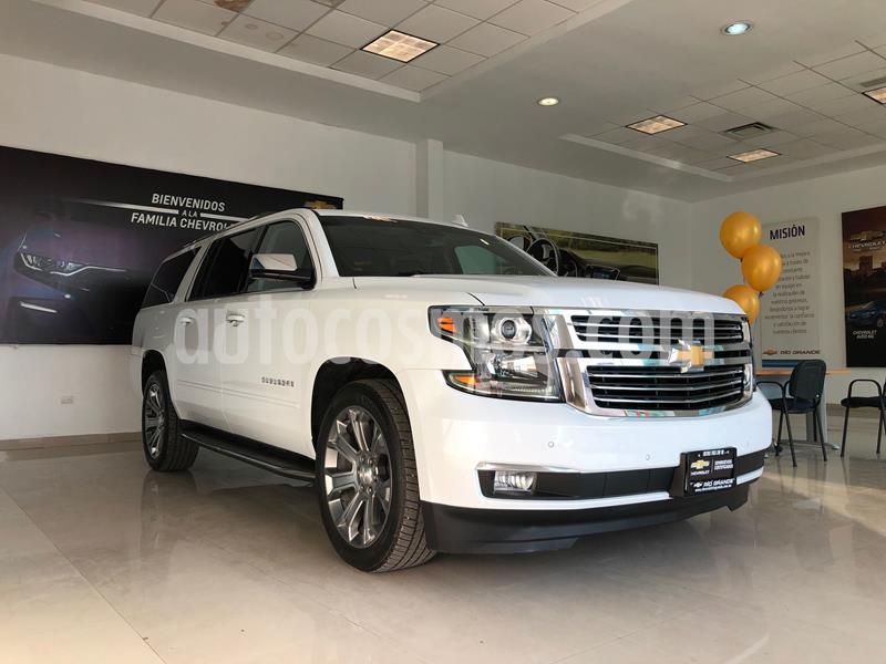 Chevrolet Suburban Premier Piel 4x4 usado (2020) color Blanco precio $1,100,000