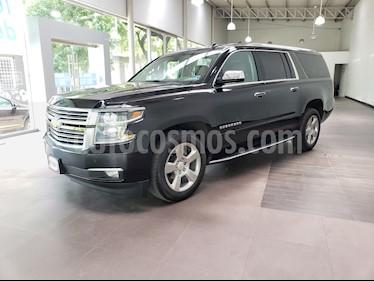 Chevrolet Suburban Paq D (295 Hp) Piel y DVD usado (2017) color Negro precio $183,274