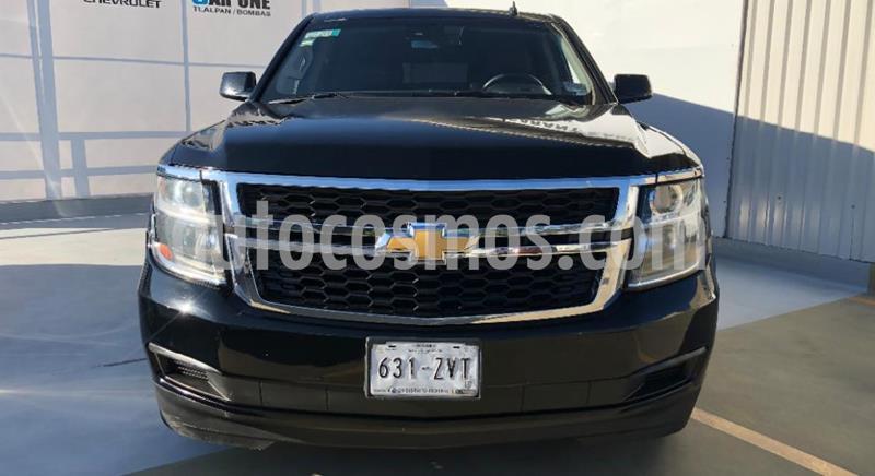 Chevrolet Suburban LT Piel Banca usado (2015) color Negro precio $460,000