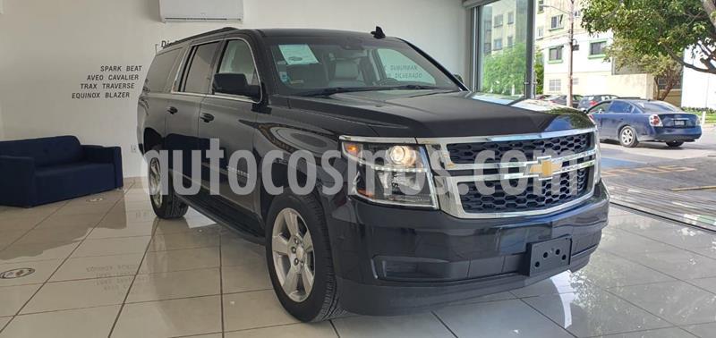 Chevrolet Suburban LT Piel usado (2019) color Negro precio $1,100,000