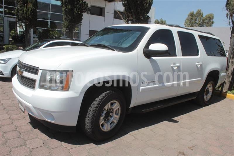 Chevrolet Suburban C 5P AUT PIEL A/A DVD usado (2008) color Blanco precio $250,000