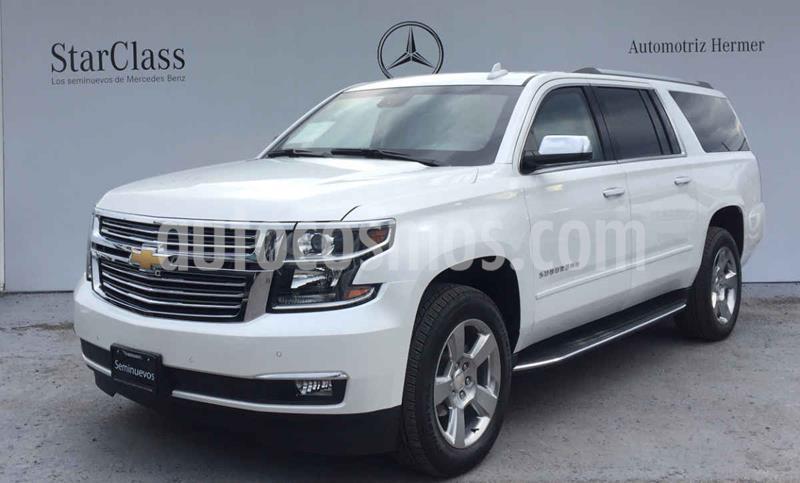 Chevrolet Suburban Premier Piel 4x4 usado (2019) color Blanco precio $1,669,900