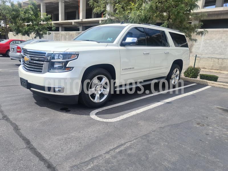 Chevrolet Suburban LTZ 4x4 usado (2015) color Blanco precio $579,000