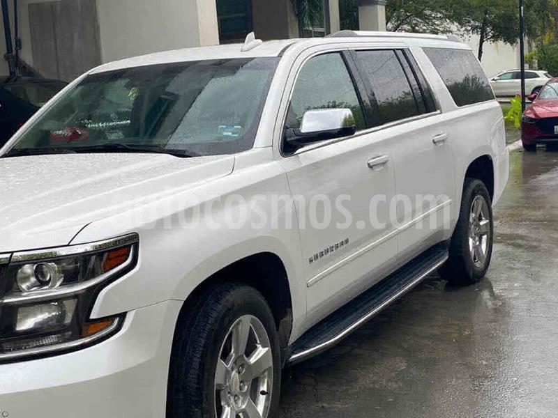 Chevrolet Suburban Premier Piel 4x4 usado (2018) color Blanco precio $605,000