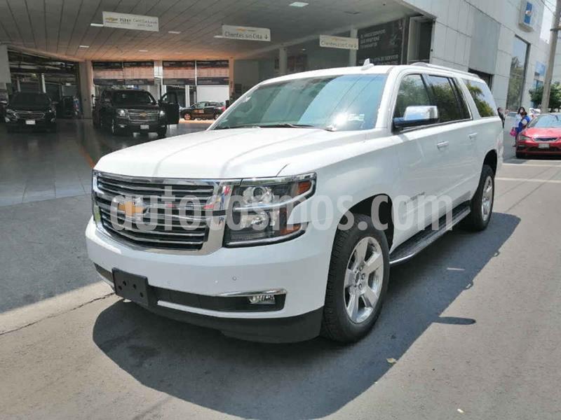 Chevrolet Suburban Premier Piel 4x4 usado (2019) color Blanco precio $1,070,000