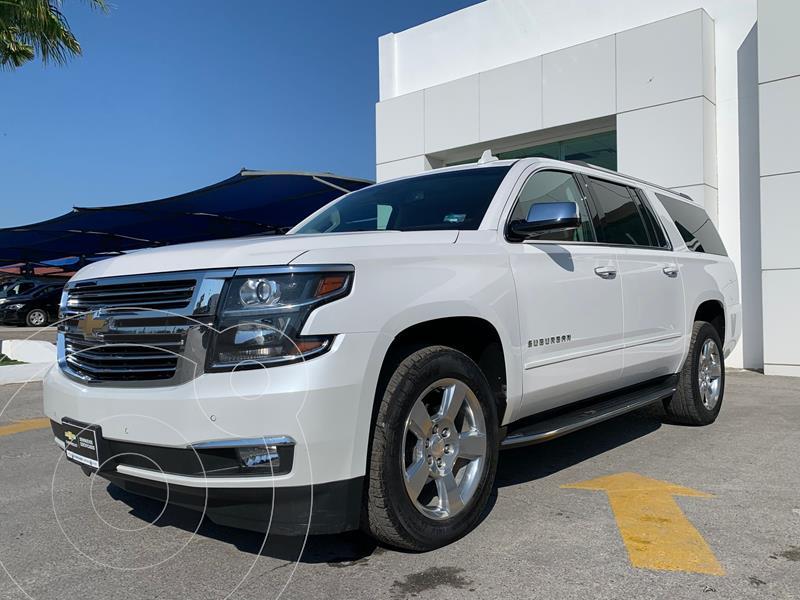 Foto Chevrolet Suburban Premier Piel 4x4 usado (2019) color Blanco precio $1,100,000