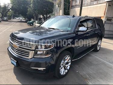 Foto venta Auto Seminuevo Chevrolet Suburban Premier Piel 4x4 (2018) color Azul Marino precio $1,100,000
