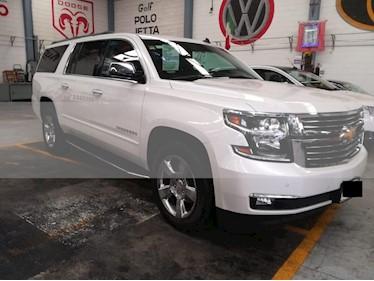 Foto venta Auto usado Chevrolet Suburban Premier Piel 4x4 (2017) color Blanco precio $795,000