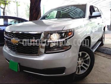 Foto venta Auto usado Chevrolet Tahoe LS Tela (2018) color Plata precio $659,000