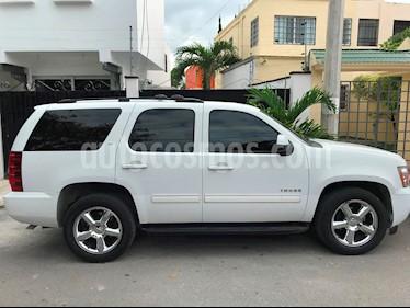 Foto venta Auto usado Chevrolet Tahoe LT Piel Quemacocos (2012) color Blanco precio $270,000