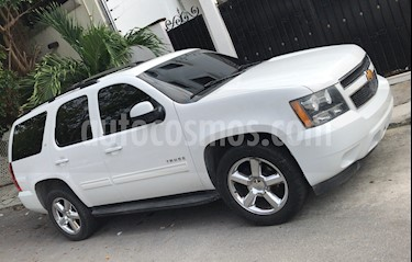 Foto venta Auto usado Chevrolet Tahoe LT Piel Quemacocos (2012) color Blanco precio $250,000