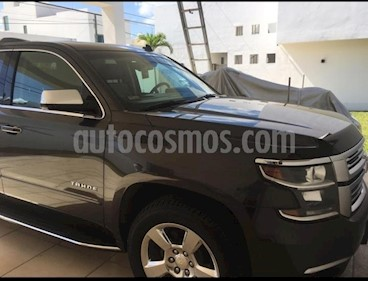 Chevrolet Tahoe LT Piel Quemacocos usado (2016) color Gris precio $750,000