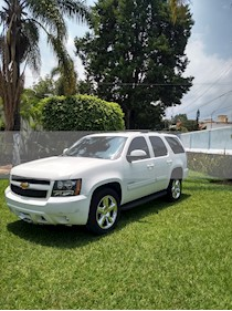 Foto venta Auto usado Chevrolet Tahoe LT Piel (2014) color Blanco precio $340,000