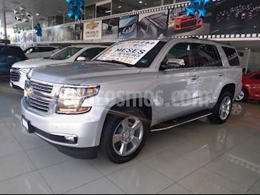 Chevrolet Tahoe 5P PREMIER TA PIEL QC DVD GPS 2ª FILA ASTOS. CUBO usado (2019) color Plata precio $1,174,900