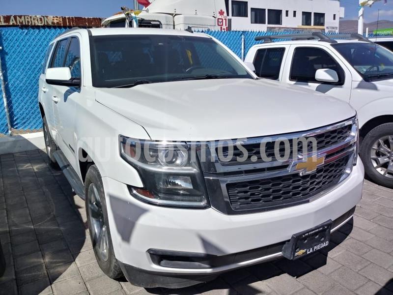 Chevrolet Tahoe LT Piel usado (2015) color Blanco precio $460,000
