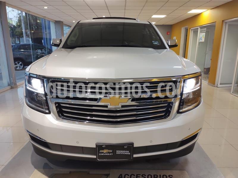 Chevrolet Tahoe Premier Piel 4x4 usado (2019) color Blanco precio $969,900