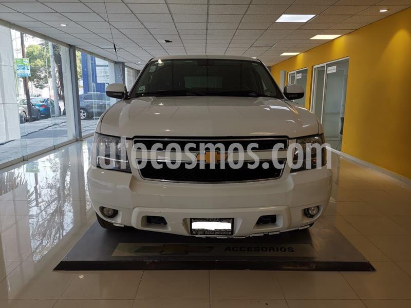 Chevrolet Tahoe Paq D  usado (2014) color Blanco precio $205,000