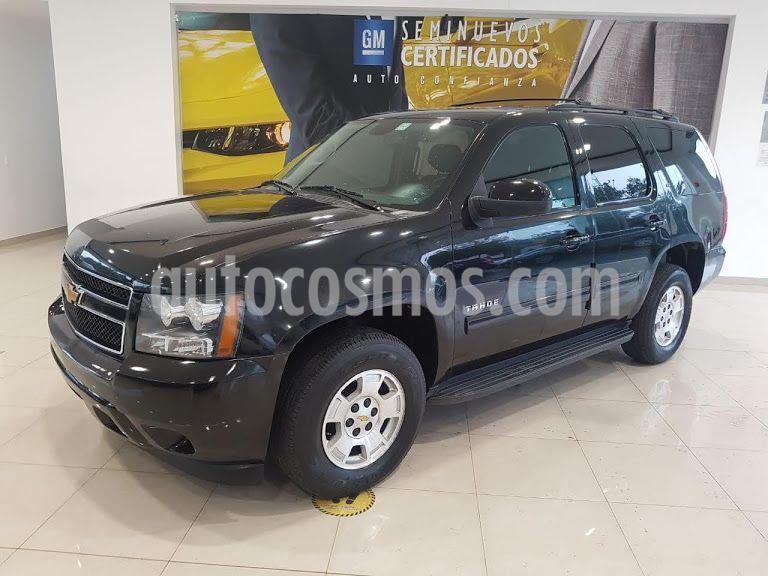 Chevrolet Tahoe LT Tela usado (2013) color Negro precio $250,000