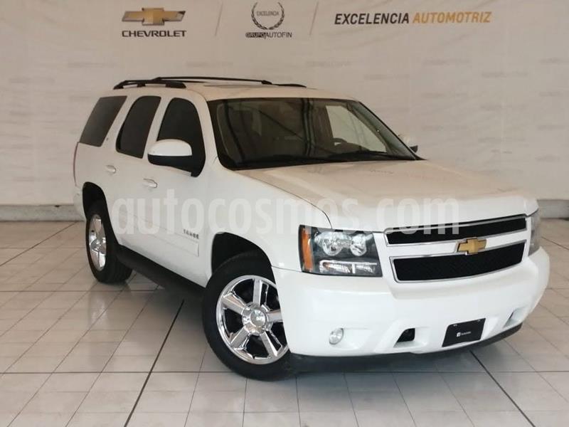 Chevrolet Tahoe LT Piel Quemacocos usado (2013) color Blanco precio $305,000