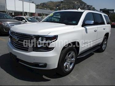 Chevrolet Tahoe LT Piel Cubo usado (2019) color Blanco precio $920,000