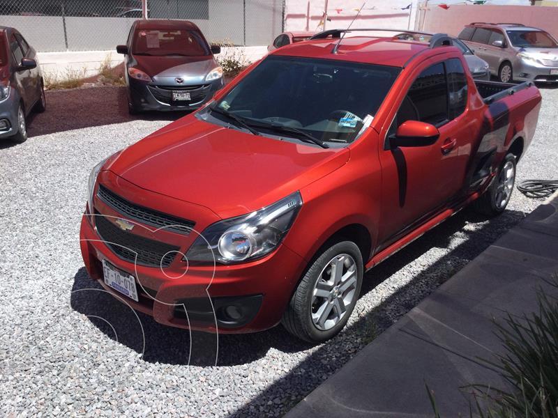 Foto Chevrolet Tornado LT usado (2018) color Rojo Cobrizo precio $220,000