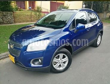 Foto venta Carro usado Chevrolet Tracker 1.8 LS Aut (2014) color Azul precio $38.900.000