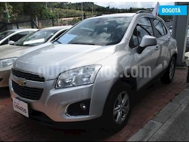 Foto venta Carro usado Chevrolet Tracker 1.8 LS Aut (2015) color Plata precio $45.000.000