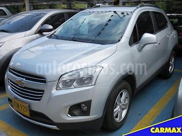 Foto venta Carro usado Chevrolet Tracker 1.8 LS Aut  (2017) color Plata precio $58.900.000