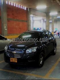 Foto venta Carro usado Chevrolet Tracker 1.8 LS (2015) color Gris Tekno precio $44.599.998