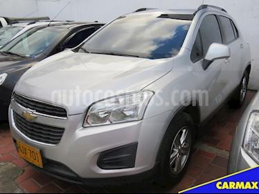 Foto venta Carro usado Chevrolet Tracker 1.8 LS (2014) color Plata precio $39.900.000