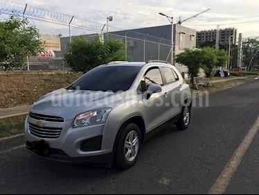 Foto venta Carro usado Chevrolet Tracker 1.8 LS (2017) color Gris Mercurio precio $48.000.000