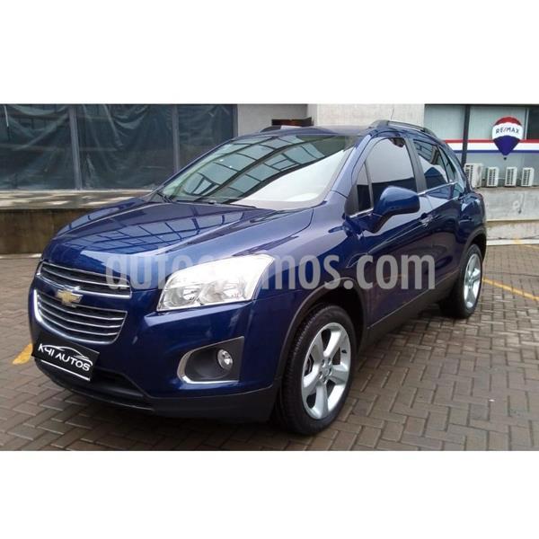 Chevrolet Tracker LTZ + 4x4 Aut usado (2017) color Azul precio $1.312.500
