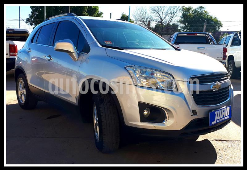 Chevrolet Tracker LTZ 4x2 usado (2015) color Gris Claro precio $1.265.000