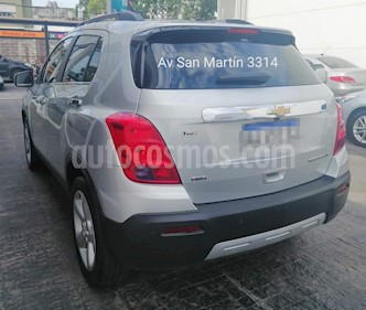 Chevrolet Tracker LTZ + 4x4 Aut usado (2016) color Plata Switchblade precio $819.900