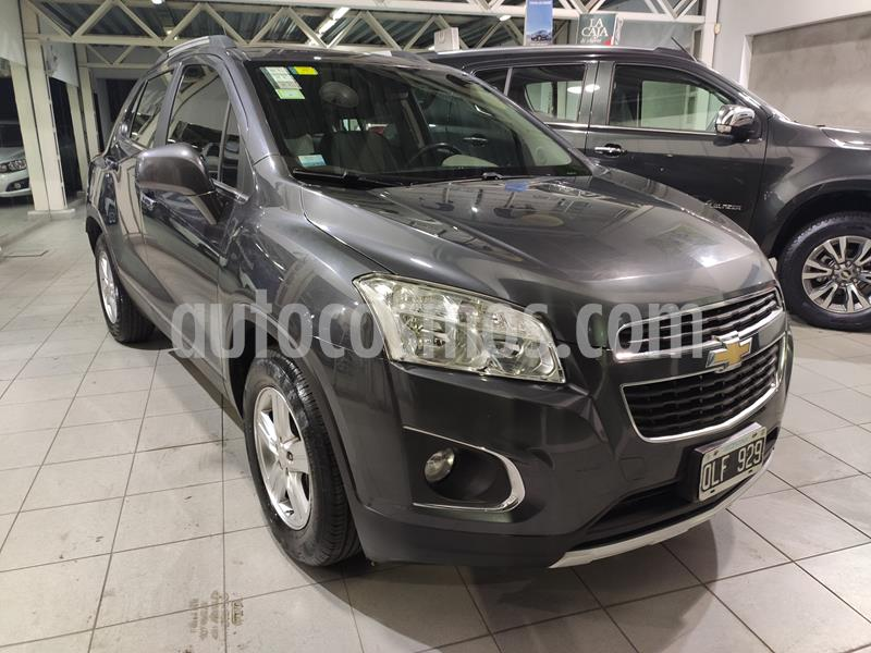 Chevrolet Tracker LTZ 4x2 usado (2014) color Gris precio $850.000