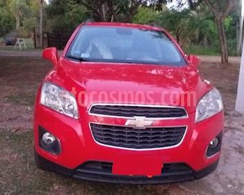 Chevrolet Tracker LTZ 4x2 usado (2014) color Rojo Victoria precio $650.000