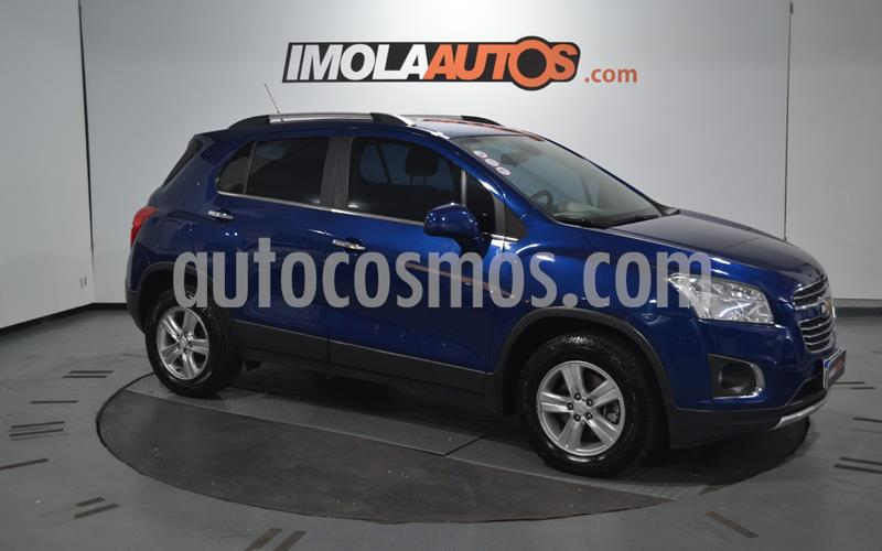 Chevrolet Tracker LTZ 4x2 usado (2017) color Azul precio $1.400.000