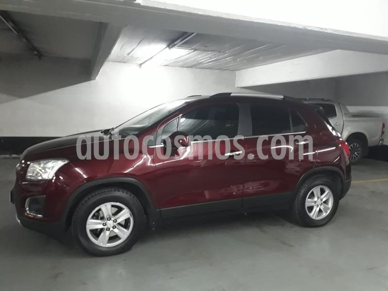 Chevrolet Tracker LTZ 4x2 2016/2017 usado (2016) color Rojo Victoria precio $1.069.000