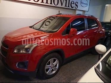 Chevrolet Tracker LTZ 4x2 usado (2014) color Rojo Victoria precio $850.000