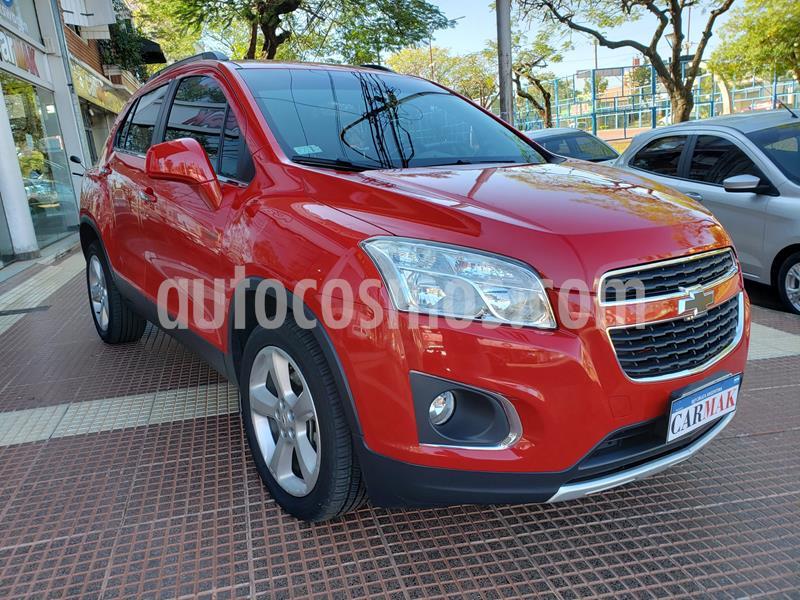 Chevrolet Tracker LTZ 4x4 Aut usado (2015) color Rojo precio $1.070.000